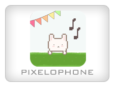 Pixelophone Cute Music App for Kids