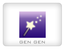 Gen Gen Custom Text Generator iPhone App